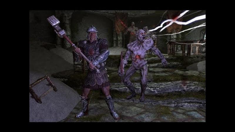 The Elder Scrolls V: Skyrim прохождение Марш мертвецов (March of the Dead) 1 часть