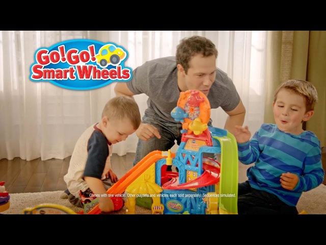 VTech® Go! Go! Smart Wheels® Race and Play Adventure Park TV Commercial 2017 30