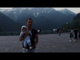 Путешествие на машине, Абхазия, озеро Рица