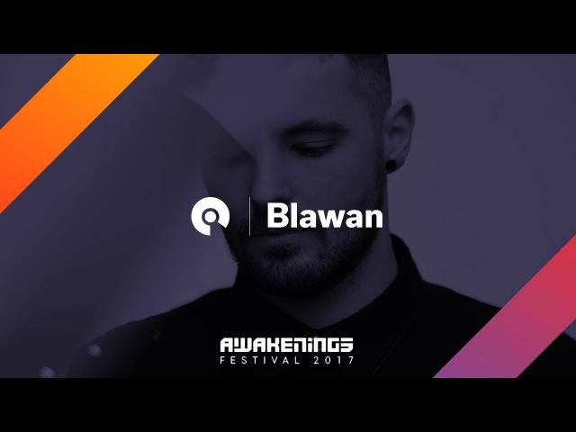 Blawan @ Awakenings Festival 2017: Area X (BE-AT.TV)