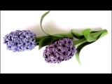 Quilling flowers 3D Hyacinthe (Part 1) Tutorial