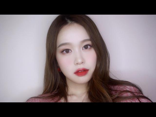 화사한 레드 메이크업 ㅣ 루비우 메이크업 ㅣso hyeon 소현 ㅣ red makeup
