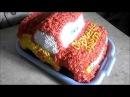 Как оформить торт машинка Молния МакКуин – гоночный автомобиль