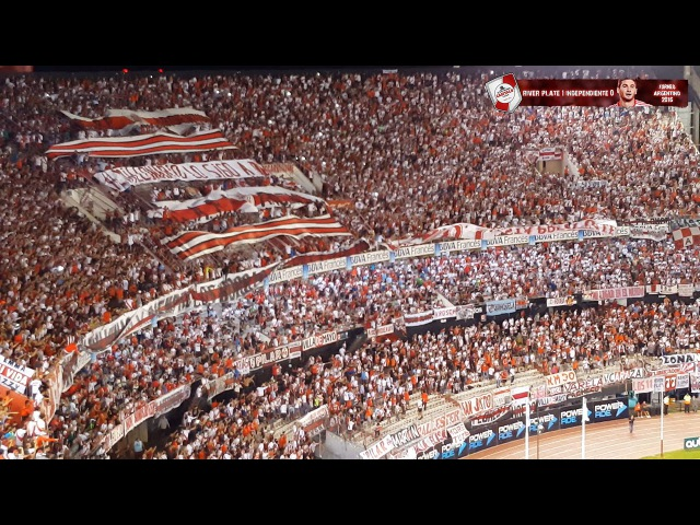 BOCA TE VAMO A MATAR CUIDATE BOSTERO - River Plate vs Independiente / Torneo 2016