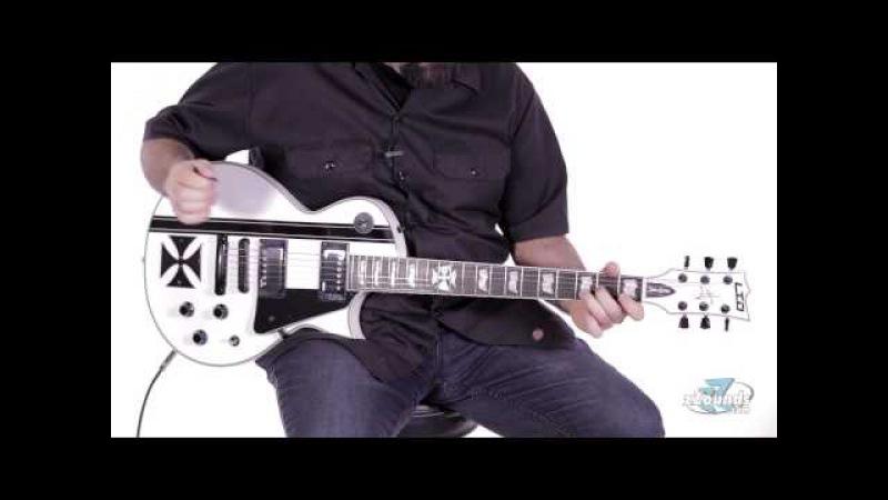ZZounds.com: ESP LTD James Hetfield Iron Cross Electric Guitar