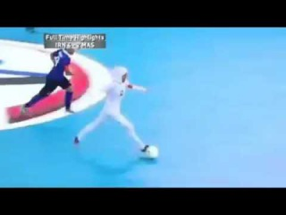 What a goal this is from the Iran women's futsal team!