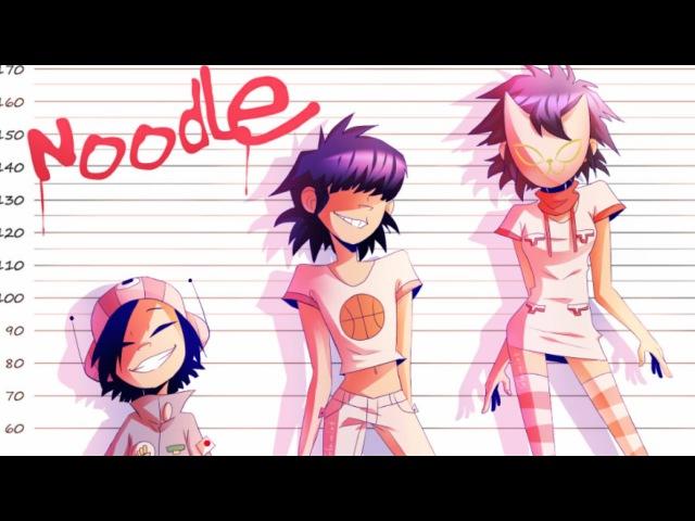 -GORILLAZ- [Speedpaint] Noodle