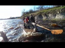 Сплав по рекам Кудеб-Великая на плотах. Пороги в Выбутах