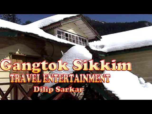 Gangtok Yumthang - 2 ft of snow on the roof - Sikkim, India