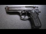 Детальный обзор пистолета Beretta M92 FS Tactical от KJW