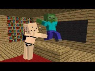 Майнкрафт Школа Мобов - СЕКС в Minecraft - Школа Монстров все новые серии