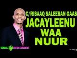 CABDIRISAAQ SALEEBAN GAAS (JACAYLKEENU WAA NUUR)  HEES CUSUB  Official  2017