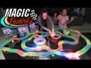 Светящийся трек Magic Tracks. Отличная гоночная гибкая трасса. Игры для мальчиков. Машинки. Игрушки.