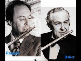 Beethoven, Duo Flutes in G major (WoO 26). Flautistas Jean-Pierre Rampal &amp Julius Baker