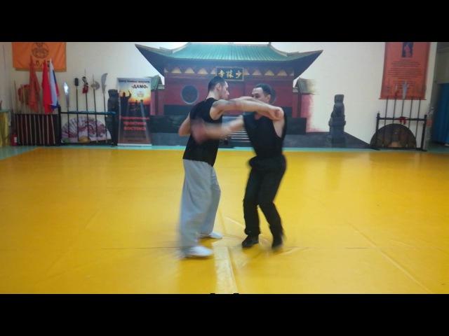 Китайский рукопашный бой (ушу-саньда)