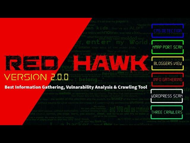 RED HAWK v2.0 | Инструменты Kali Linux | Timcore