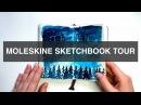 Completed Moleskine Sketchbook 2