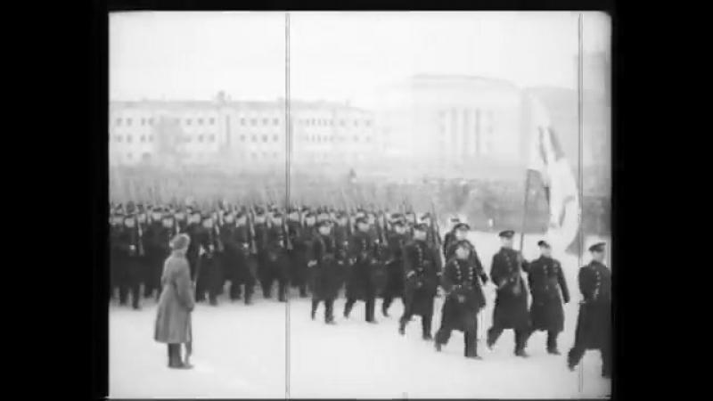 Парад в Куйбышеве 7 ноября 1941г
