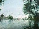 Дождь на лобовом стекле вдохновил художника Грегори Тилкера(
