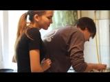 Как должна выглядеть влюблённая пара на кухне