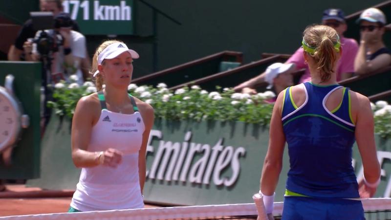 Теннис. Макарова разгромила первую ракетку мира Кербер в первом круге «Ролан Гаррос»