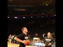 Разминочный данк Тимофея Мозгова перед первым предсезонным матчем Brooklyn Nets против New York Knicks (115:107) #wegohard