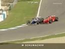 Дисквалификация Шумахера  за аварию с Вильнёвым в Хересе 1997