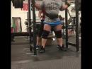 Деннис Корнелиус - присед 354 кг на 5 повторов