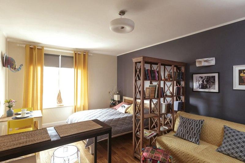 Квартира-студия 27 м в Санкт-Петербурге.