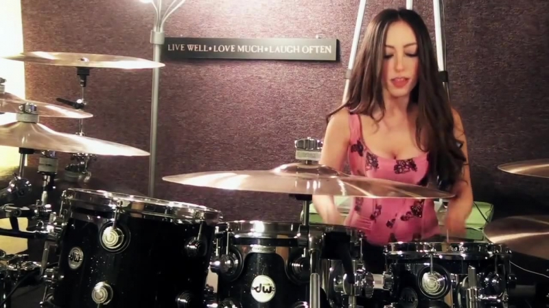 PAPA ROACH - LAST RESORT - DRUM COVER BY MEYTAL COHEN