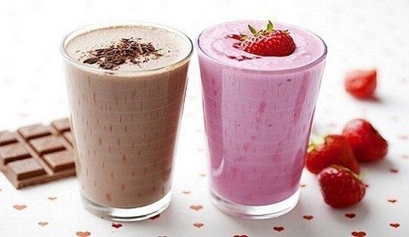 Рецепты молочных коктейлей из McDonald