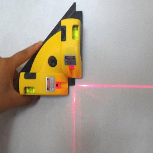 Популярный лазерный угольник-уровень