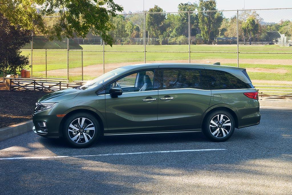 Новую Honda Odyssey 5 для США презентовали в Детройте