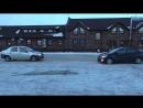 Renault Logan 1.4L против Hyundai Solaris 1.6L на льду