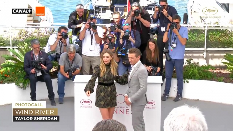 WIND RIVER - Photocall - EV - Cannes 2017