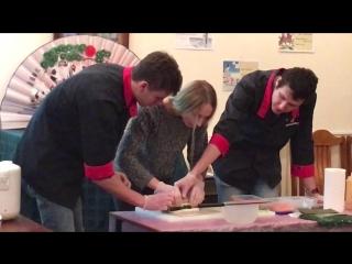 Вечеринка суши ,мастер класс от студентки