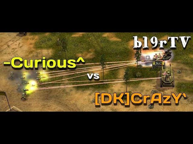 Command Conquer: Generals Zero Hour - USA Air vs China Nuk - Professional players