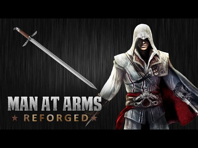 Sword of Altair Assassin's Creed MAN AT ARMS REFORGED