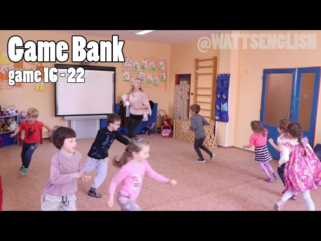 Game bank | game 16 - 22 | WattsEnglish