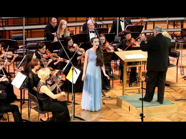 Giovanni Battista Pergolesi Se tu m'ami Концерт в Большом зале Московской консерватории