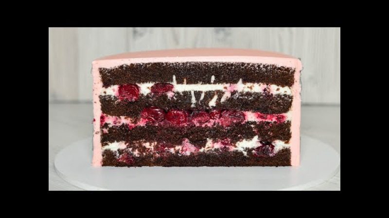 Торт ЧЕРНЫЙ ЛЕС ☆ ТОРТ Шварцвальд ☆ Вишня Шоколад