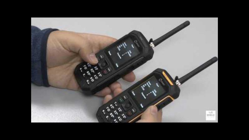 Обзор Senseit P300 защищенный телефон рация