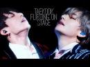 Taekook flertando no palco VKOOK