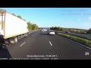 Мастерское торможение автобуса в аварийной ситуации · coub, коуб