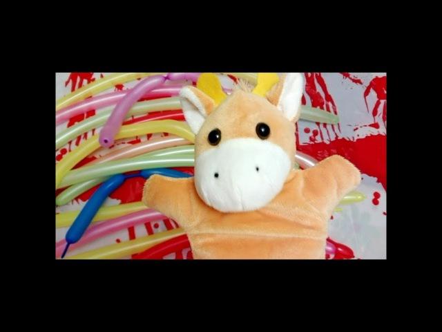 Лопаем ЦВЕТНЫЕ ШАРИКИ ПОЕМ песни УЧИМ ЦВЕТА Learn Colors with Balloons Baby Nursery Rhymes Song