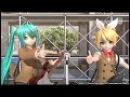 【PS4 DIVA FT】なりすましゲンガー【鏡音リン:妄想ガール(しましまビキニ 65
