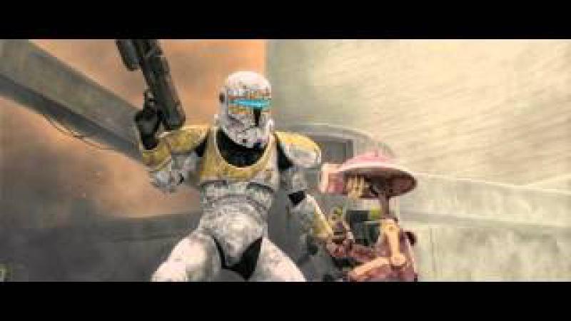 Star Wars The Clone Wars Clone Commando Gregor vs Battle Droids 1080p