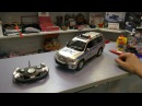 Полицейская машина на пульте Rastar Toyota Land Cruiser ДПС 1:16