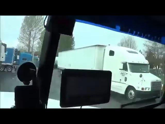 Русский дальнобойщик в Америке