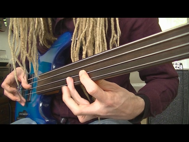 Fretless Funk Rock Bass Grooves